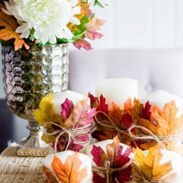 Easy DIY Thanksgiving Centerpieces