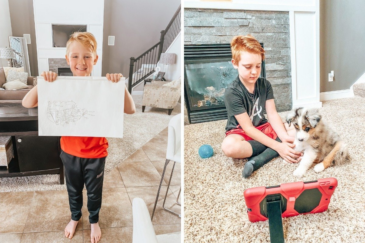 how to teach your kids during home school