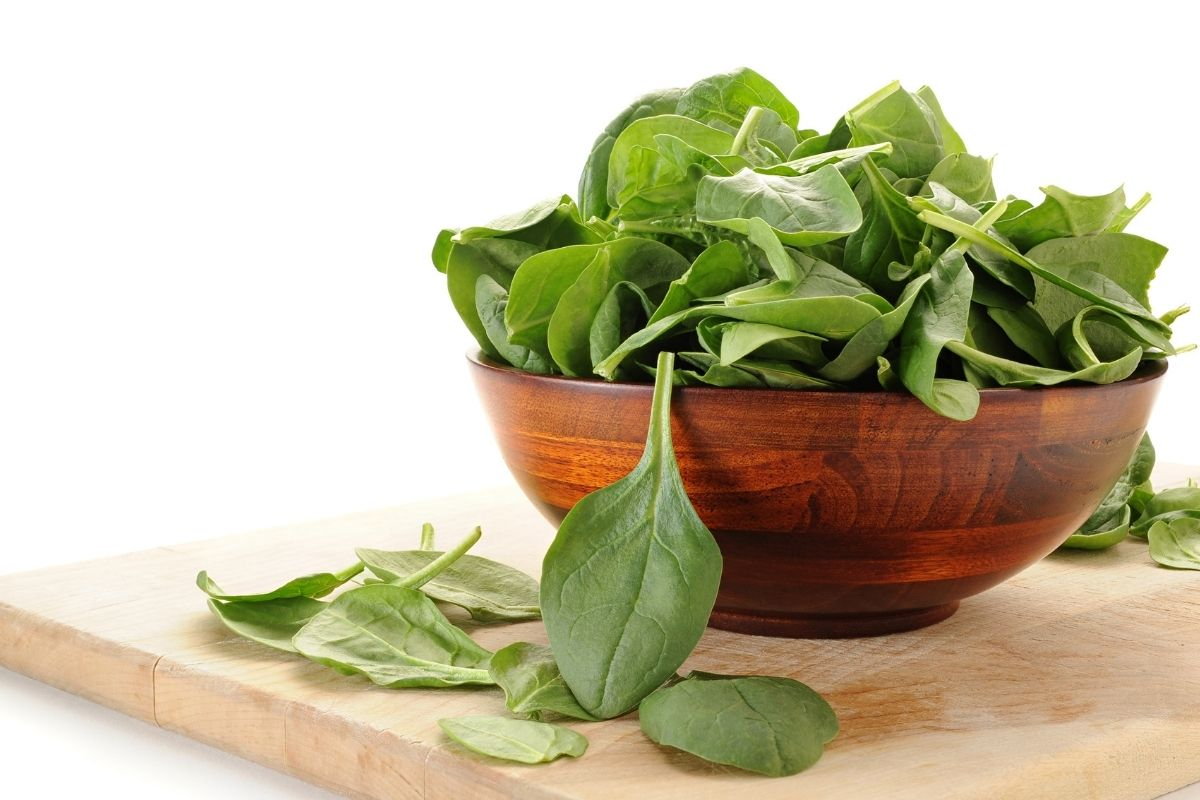 spinach recipes 800g challenge